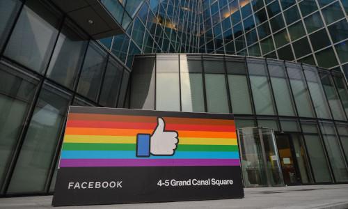 Facebook's European headquarters in Dublin, Ireland.